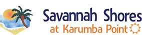 Savannah Shores accommodation at Karumba Point Logo