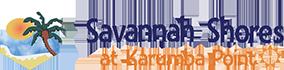 Savannah Shores accommodation at Karumba Point Logo